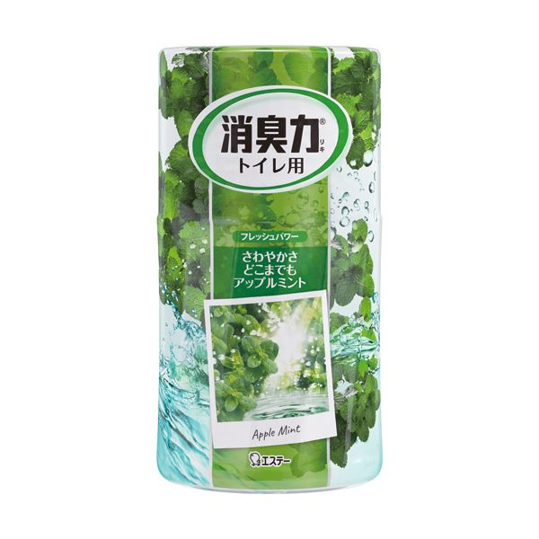 (まとめ) エステー トイレの消臭力 アップルミント 400ml 1セット(3個) 【×10セット】 送料無料!