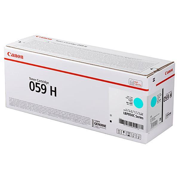 【純正品】CANON 3626C001 トナーカートリッジ059Hシアン 送料無料!
