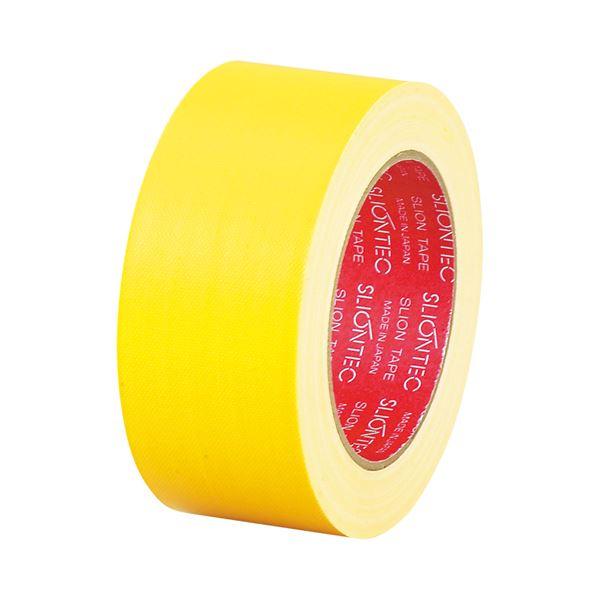 (まとめ) スリオンテック 布粘着テープ No.3390 50mm×25m 黄 No.3390-50YL 1巻 【×30セット】 送料無料!