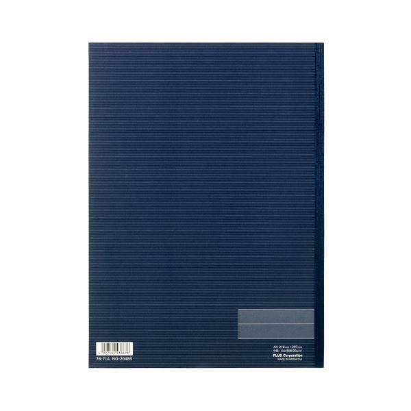 (まとめ)プラス ノートブック NO-204BS A4 B罫10冊【×5セット】 送料込!