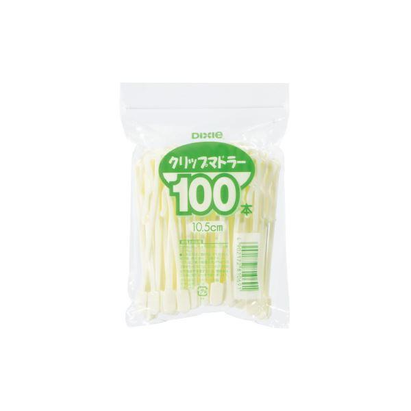 (まとめ)日本デキシー クリップマドラー 100本×10パック【×10セット】 送料込!