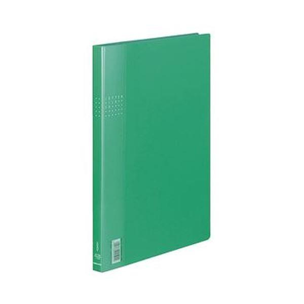 (まとめ)コクヨ レターファイルEX A4タテ120枚収容 背幅21mm 緑 フ-510G 1セット(10冊)【×3セット】 送料無料!