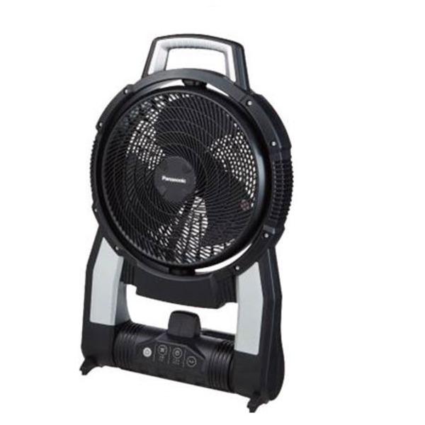 パナソニック Panasonic EZ37A4-B 工事用充電扇風機(黒)本体のみ 送料込!
