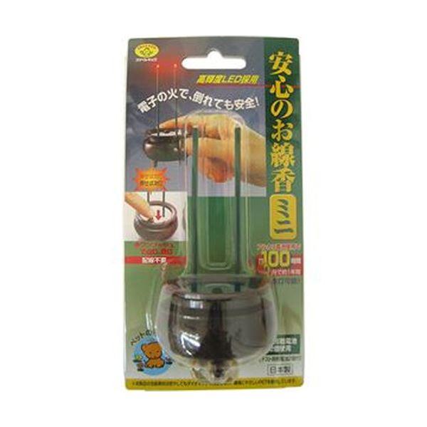 (まとめ)旭電機化成 安心のお線香ミニ ブラウンASE-5201DB 1個【×5セット】 送料無料!