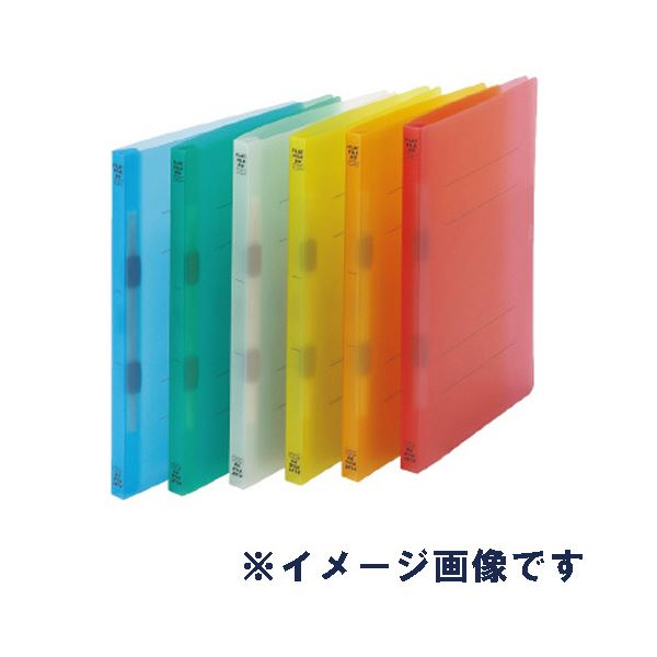 (まとめ)ビュートン フラットファイルPP A4SオレンジFF-A4S-COR【×200セット】 送料込!
