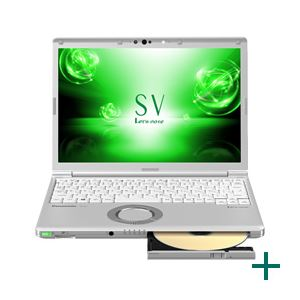 パナソニック Let's note SV7 DIS専用モデル(Corei5-8250U/8GB/SSD256GB/SMD/W10P64/12.1WUXGA/電池S) 送料込!