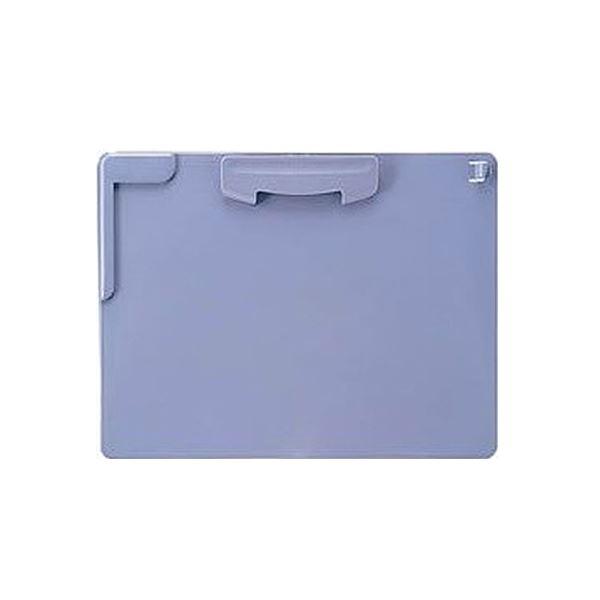 (まとめ) ライオン事務器 クリップボード A4ヨコブルー CS-221N A4-S 1枚 【×30セット】 送料無料!