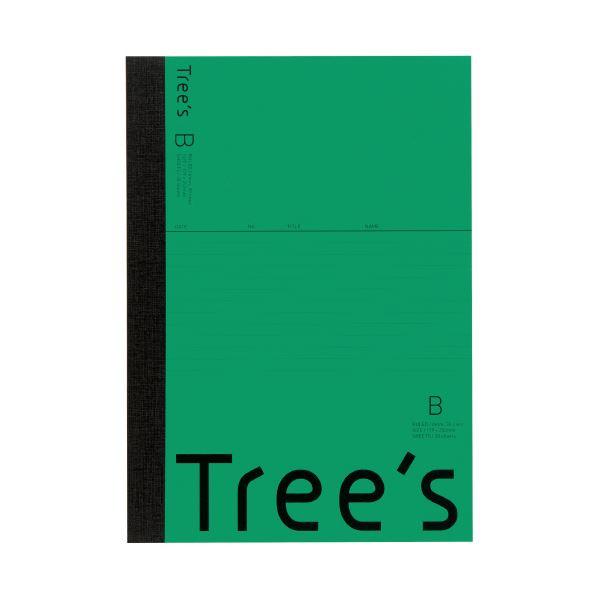 (まとめ)キョクトウ・アソシエイツ Trees B5 B罫 30枚 グリーン(×300セット) 送料込!