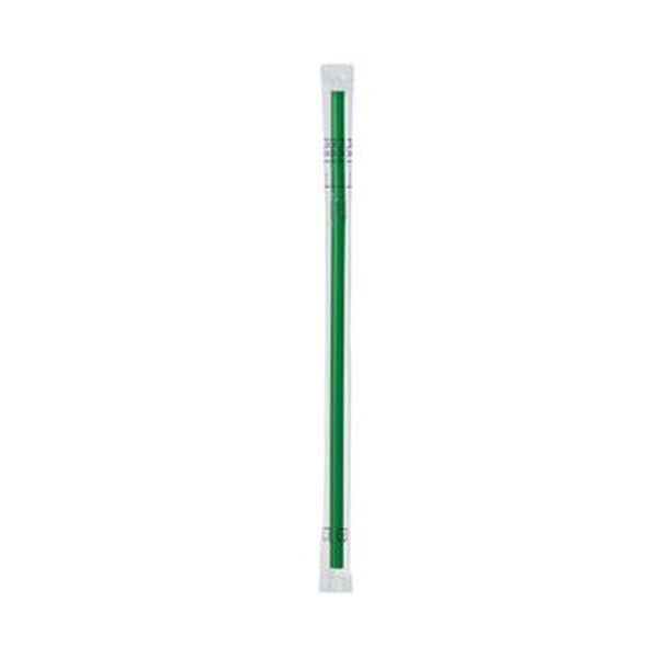 (まとめ)きんだいフレックスストロー(フィルム包装)グリーン GS-43 1パック(500本)【×20セット】 送料無料!
