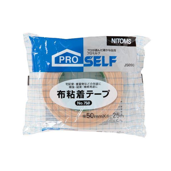 (まとめ) ニトムズ 布粘着テープ No.750POS 50mm×25m J5090 1巻 【×30セット】 送料込!