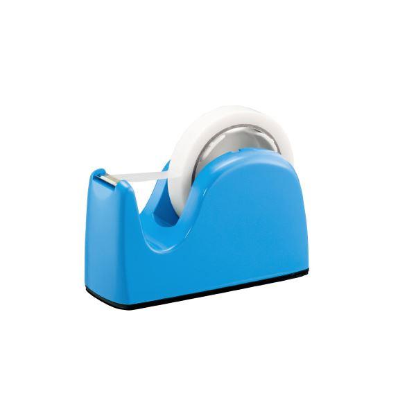 (まとめ)プラス テープカッター TC-301 ライトブルー 5台【×10セット】 送料込!
