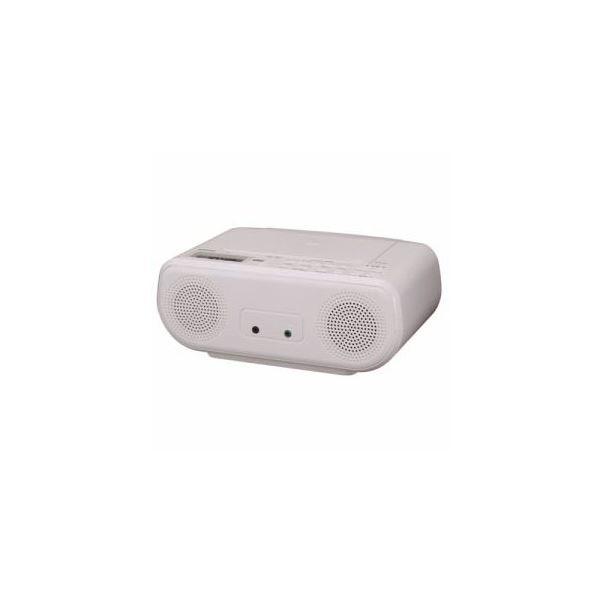 マート CDラジオ 返品不可 ホワイト TOSHIBA TY-C160-W 送料込