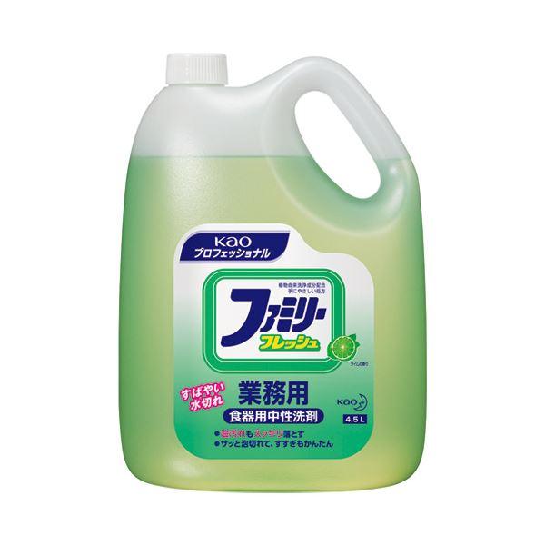 (まとめ) 花王 ファミリーフレッシュ 業務用 4.5L【×5セット】 送料込!