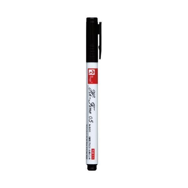 (まとめ)寺西化学工業 マジックインキ M900R-T 黒(×100セット) 送料無料!