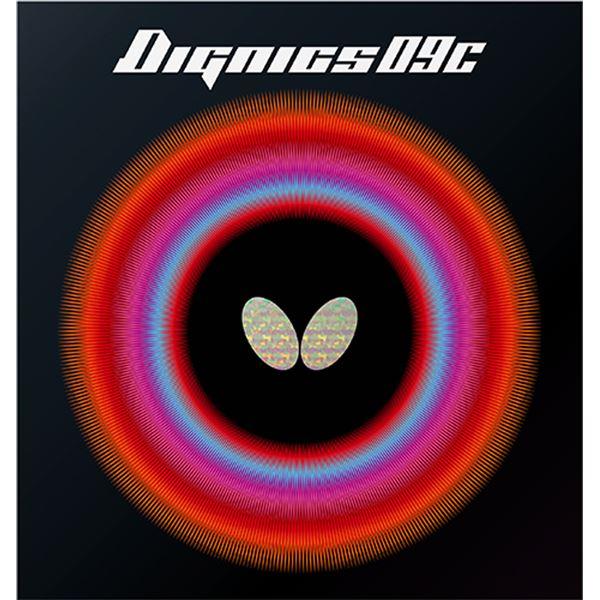 Butterfly(バタフライ) ハイテンション裏ラバー DIGNICS 09C ディグニクス09C レッド A(厚) 送料無料!