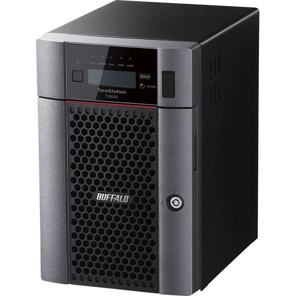 バッファロー TeraStation TS6000DNシリーズ 6ベイ デスクトップNAS 24TB 送料無料!