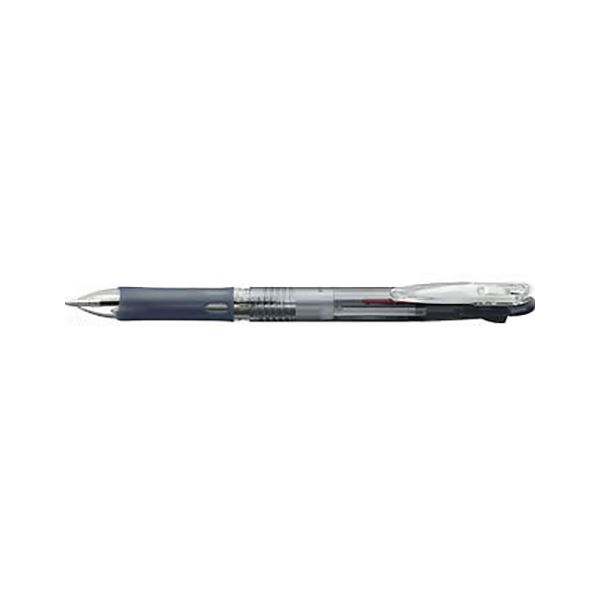 (まとめ) ゼブラ クリップオンスリム 2色ボールペン 黒(インク色:黒・赤) ボール径:0.7mm【×50セット】 送料無料!