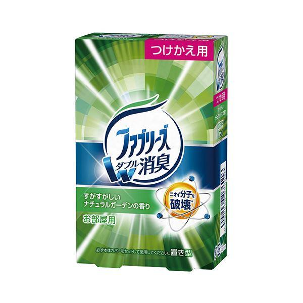 (まとめ) P&G 置き型ファブリーズ すがすがしいナチュラルガーデンの香り つけかえ用 130g 1個 【×30セット】 送料無料!