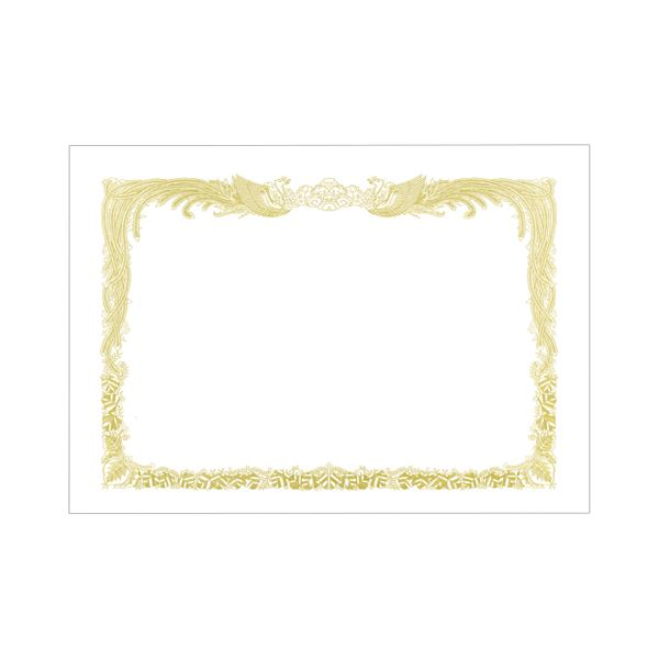(まとめ) TANOSEE 賞状用紙 白 B5 タテ書用 1冊(10枚) 【×30セット】 送料無料!