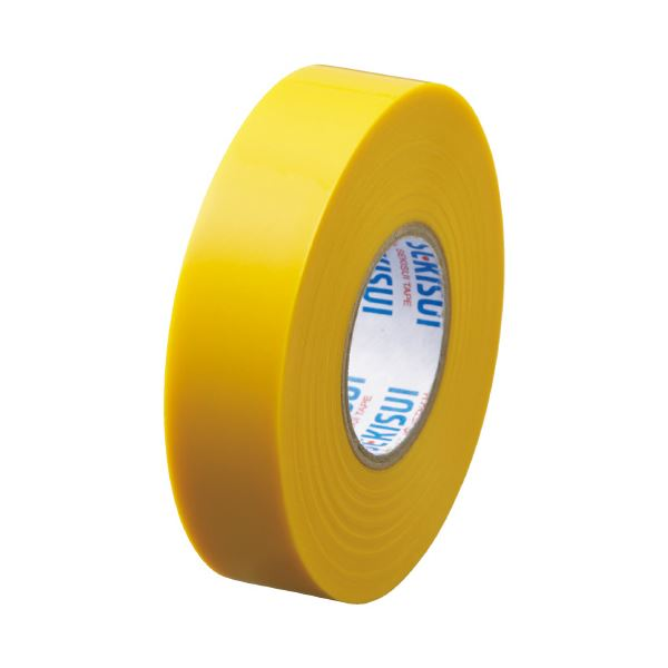 V360Y2N(×100セット) エスロンテープ 黄 (まとめ)セキスイ 送料込! 19mm×20m #360