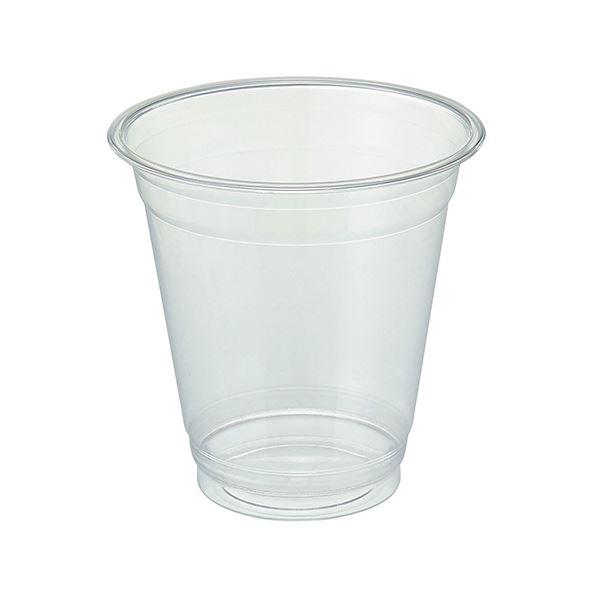 TANOSEE リサイクルPETカップ(広口)370ml(12オンス)1セット(1000個:50個×20パック) 送料無料!
