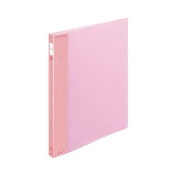 (まとめ)コクヨ ポップリングファイル(スリム)A4タテ 2穴 100枚収容 背幅21mm ピンク フ-PS410P 1セット(10冊)【×3セット】 送料無料!