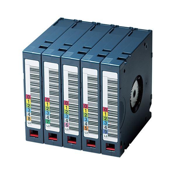 富士フイルム LTO Ultrium3データカートリッジ バーコードラベル(縦型)付 400GB LTO FB UL-3 OREDPX5T1パック(5巻) 送料無料!