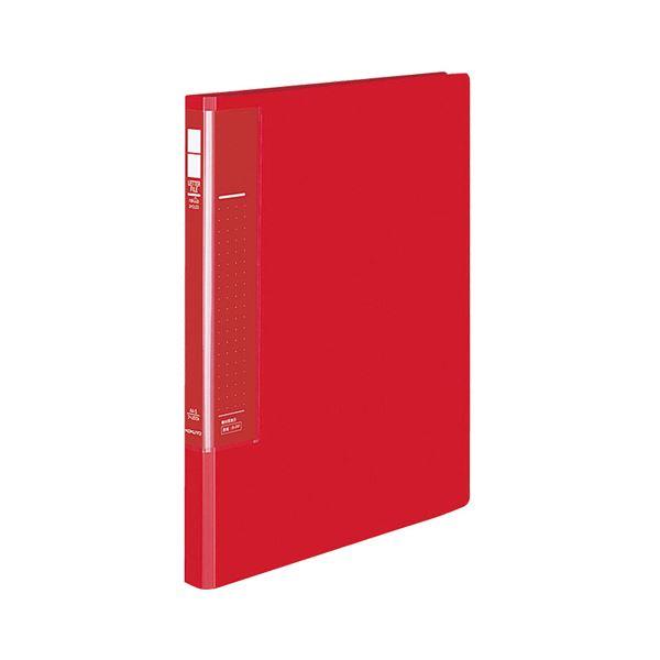 (まとめ) コクヨ レターファイル(ラクアップ)A4タテ 120~250枚収容 背幅23~36mm 赤 フ-U510R 1冊 【×30セット】 送料込!