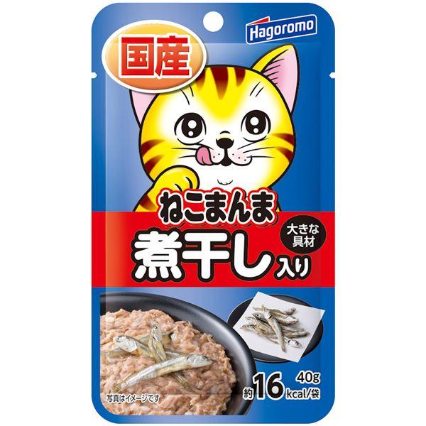 (まとめ)ねこまんまパウチ 煮干し入り 40g【×72セット】【ペット用品・猫用フード】 送料込!