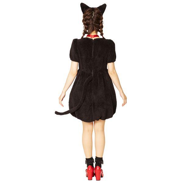 コスプレ衣装 コスチュームふわもこアニマル ブラックキャットDeIbEH9YW2