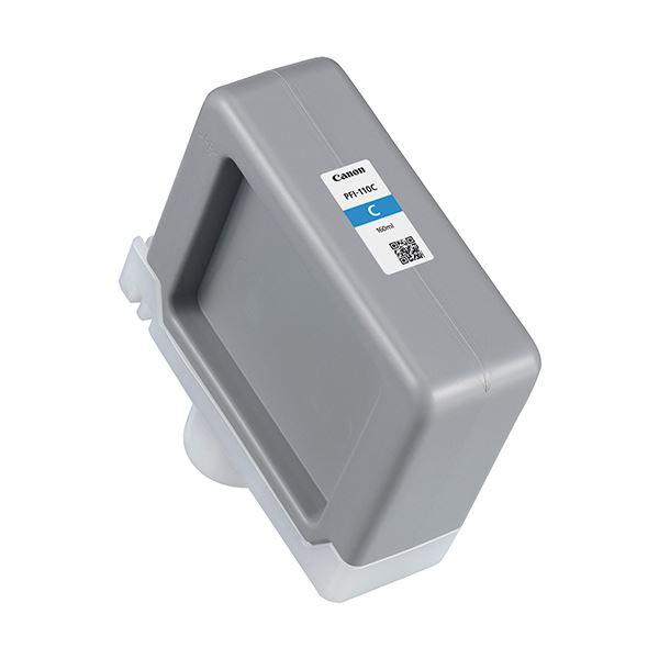 (まとめ)キヤノン インクタンク PFI-110Cシアン 160ml 2365C001 1個【×3セット】 送料無料!