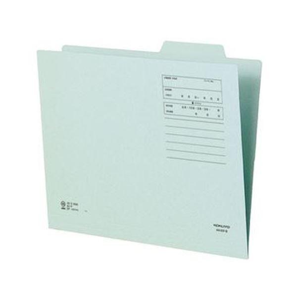 (まとめ)コクヨ 個別フォルダー(間伐材使用)A4 青 A4-KIF-B 1セット(10冊)【×10セット】 送料無料!