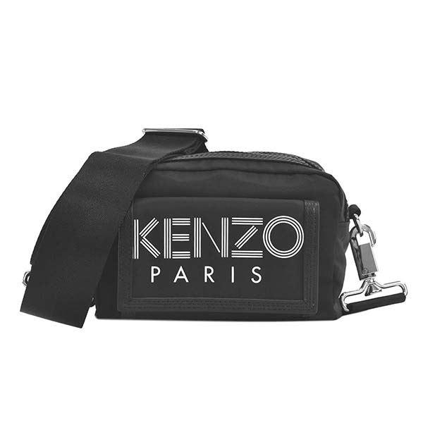 KENZO(ケンゾー) ナナメガケバッグ F955SF218F24 99 BLACK 送料無料!