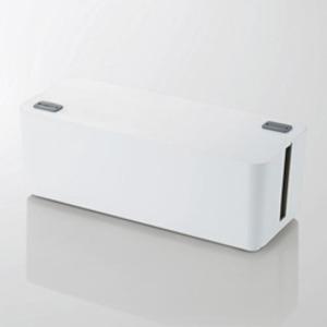 5個セット エレコム ケーブルボックス(6個口) ホワイト EKC-BOX001WHX5 送料無料!