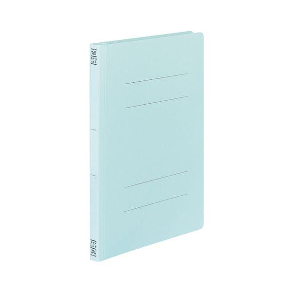 (まとめ)コクヨフラットファイルV(樹脂製とじ具) A4タテ 150枚収容 背幅18mm 青 フ-V10B1セット(100冊:10冊×10パック)【×3セット】 送料無料!