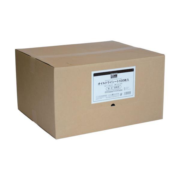 TRUSCO オイルドライシート380×480 TODS-3848 1箱(100枚) 送料無料!