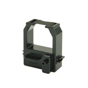 (まとめ) アマノ タイムレコーダー用インクリボンカセット 黒 CE-320050 1個 【×5セット】 送料無料!