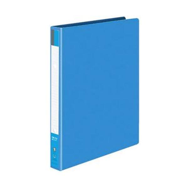 (まとめ)コクヨ リングファイル 色厚板紙表紙B5タテ 2穴 170枚収容 背幅30mm 青 フ-421B 1セット(10冊)【×3セット】 送料無料!