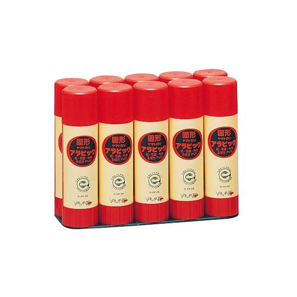 ヤマト 固形アラビック 口紅タイプお徳用パック 22g YS-22-10S 1セット(120本:10本×12パック) 送料無料!
