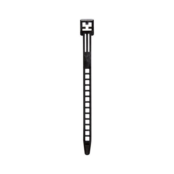 (まとめ)朝日電器 コードバンド CB-N03P(BK) 10本【×50セット】 送料込!