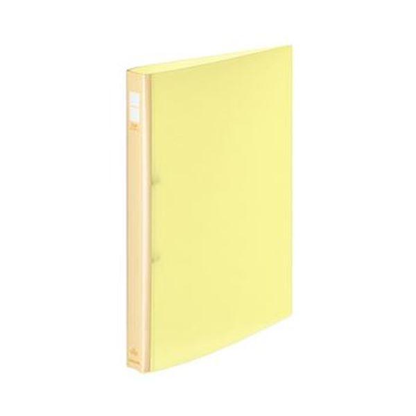 (まとめ)コクヨ ポップリングファイル A4タテ2穴 150枚収容 背幅31mm 黄 フ-P420NY 1セット(10冊)【×3セット】 送料無料!