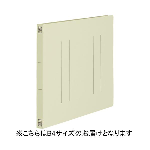 (まとめ)プラス フラットファイル縦罫B4E No.012NT IV 10冊【×30セット】 送料込!