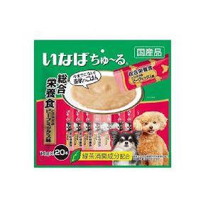 (まとめ)ちゅーる20本総合笹身ビーフM14g20本 (ペット用品・犬フード)【×16セット】 送料無料!