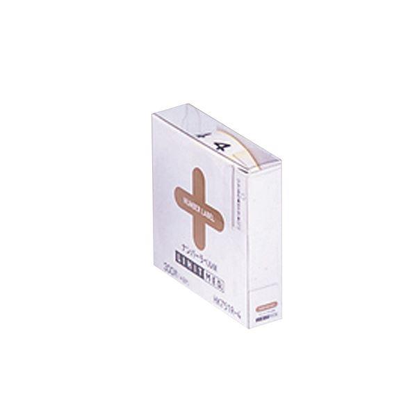 (まとめ) ナンバーラベルM HK751R-4ロールタイプ 「4」 300片入 【×10セット】 送料無料!