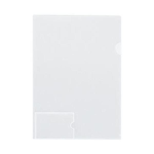 (まとめ)コクヨ クリヤーホルダー(名刺ポケット付)A4 透明 フ-MP750T 1セット(5枚)【×20セット】 送料無料!