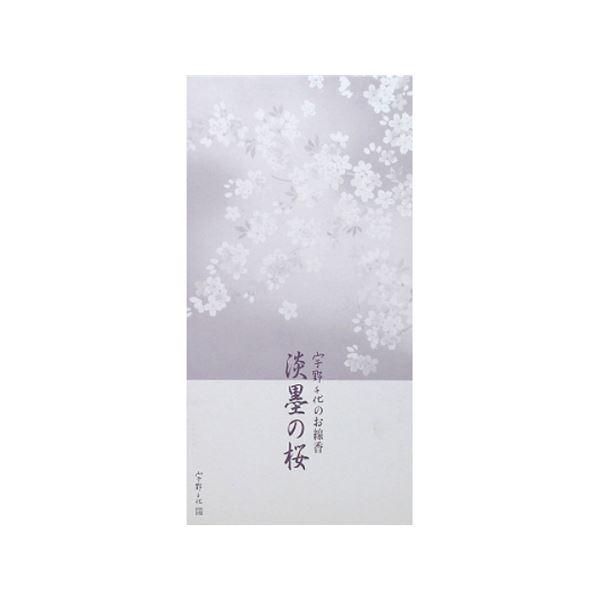 (まとめ) 宇野千代のお線香 淡墨の桜 桐箱サック 6入 【×20セット】 送料無料!