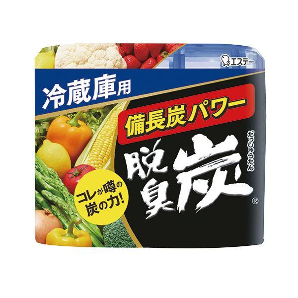 (まとめ) エステー 脱臭炭 冷蔵庫用 140g 1セット(3個) 【×10セット】 送料無料!