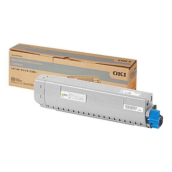 まとめ 出荷 純正品 OKI TC-C3BY1 モデル着用 注目アイテム 送料無料 ×5セット イエロー トナーカートリッジ