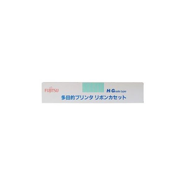 (まとめ)富士通 リボンカセット MPP5H 黒0325110 1本【×3セット】 送料無料!