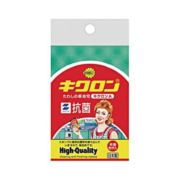 (まとめ)キクロン キクロン Aスポンジたわし グリーン 112432 1個【×50セット】 送料無料!